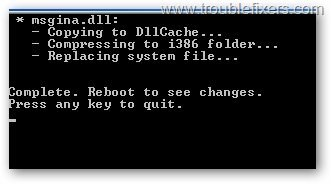 dll-replace-successfully-completed