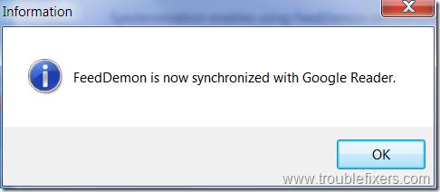 feed-daemon-synchronization-successful