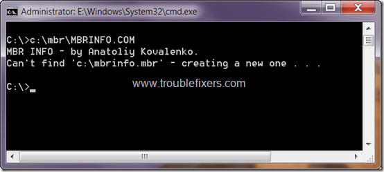 mbrinfo-create-mbrinfo-file
