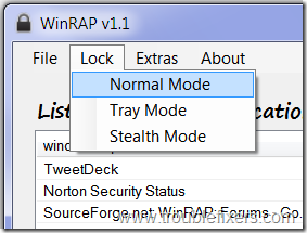 winrap-modes