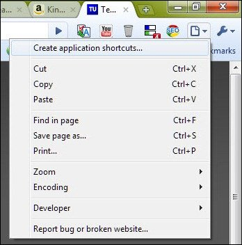 create-application-shortcuts
