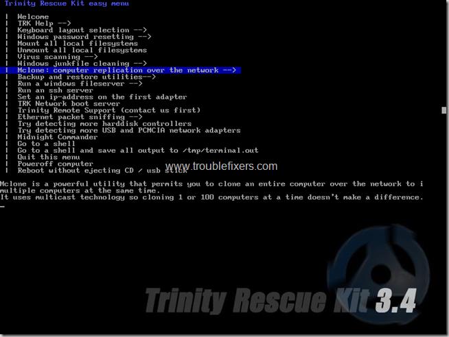 trinity computer replication options