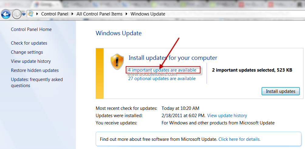 Windows 7 update installer not working desinstaller windows xp service pack 3