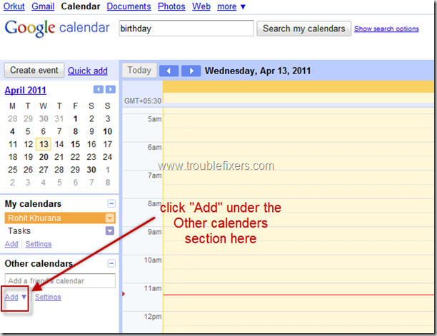 add-orkut-google-contact-birthdays-to-calender