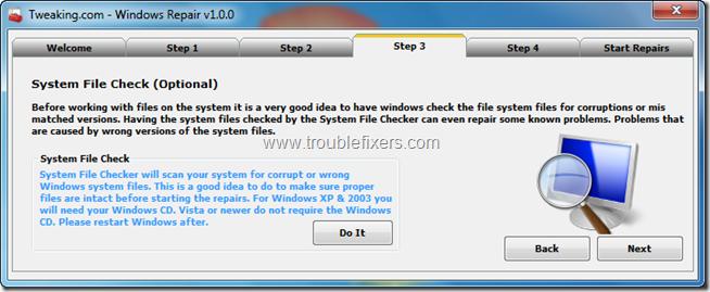 Tweaking.com - Windows Repair 4