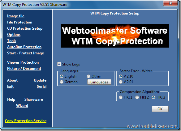WTM Copy Protection 1