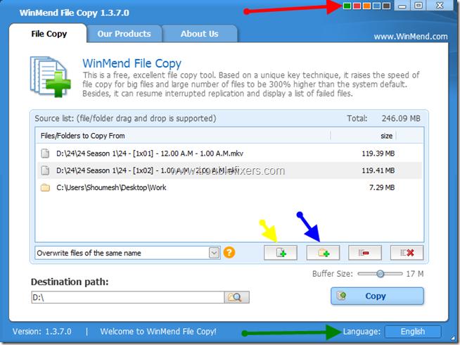WinMend File Copy 1