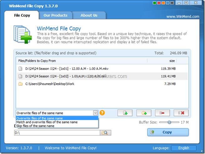 WinMend File Copy 2