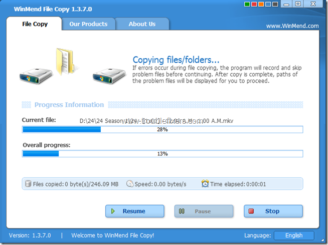 WinMend File Copy 3
