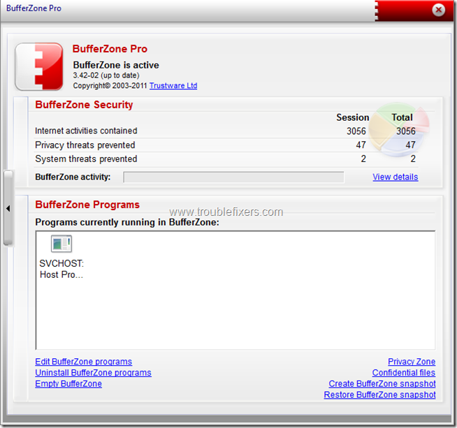 BufferZoneProFree 1