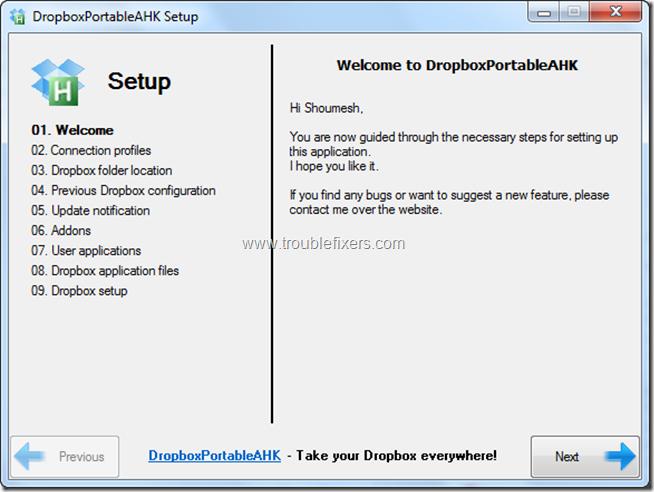 DropboxPortableAHK 1