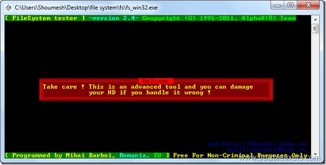 file system 1
