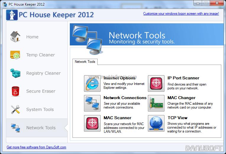 Improve Disk, Registry, Startup Programs and Network