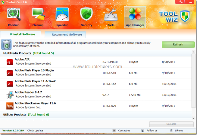 Toolwiz Care 6