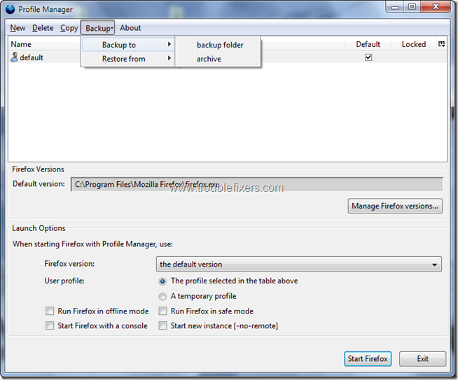 profilemanager 4