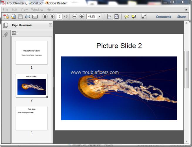 Convert PPT to PDF Using Google Docs (1)