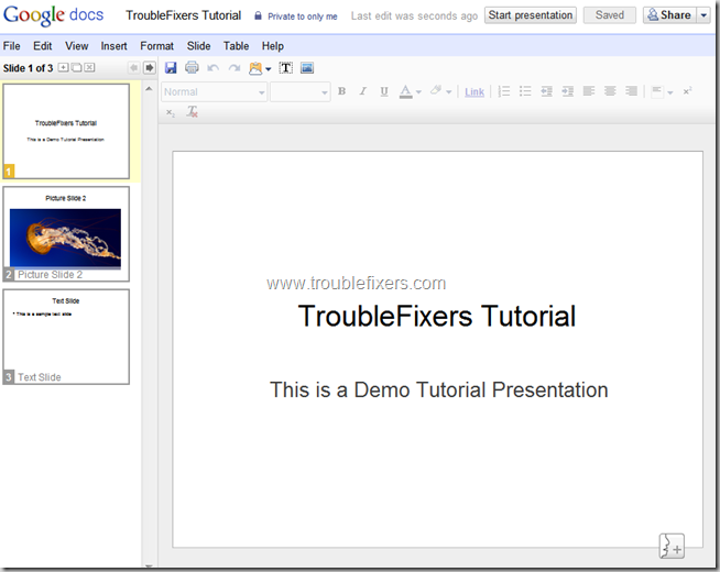 Convert PPT to PDF Using Google Docs (6)