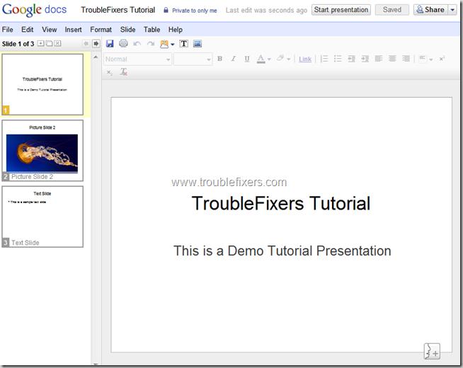 Convert PPT to PDF Using Google Docs (6)