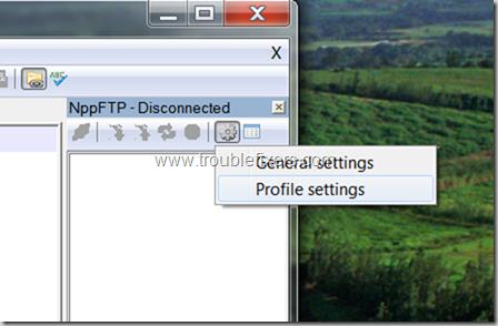 NPPFTP Settings