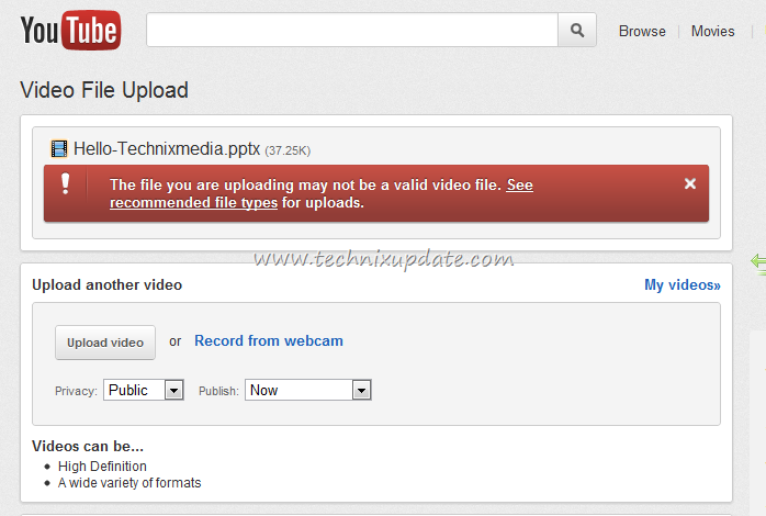 all ways to upload powerpoint ppt on youtube as video file, Powerpoint templates