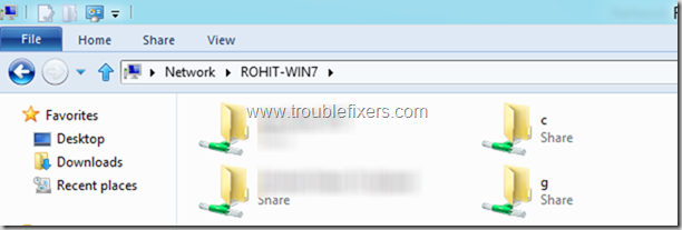 Windows 8 File sharing with Windows 7 and Windows 8 PC over same network