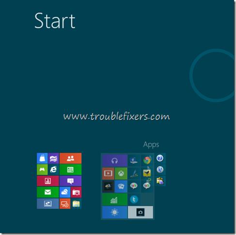 Rearranging Tiles Blocks Smart Screen Windows 8
