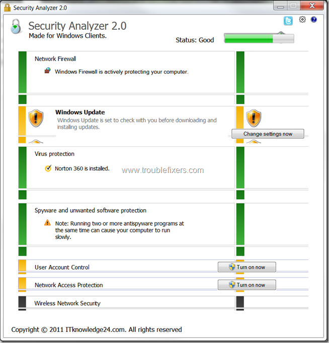 Security Analyzer Report