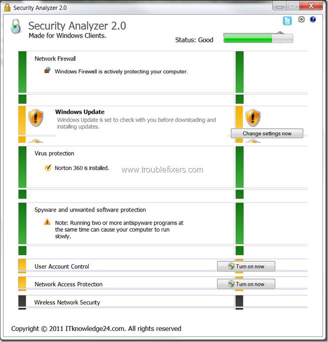 Security Analyzer Report