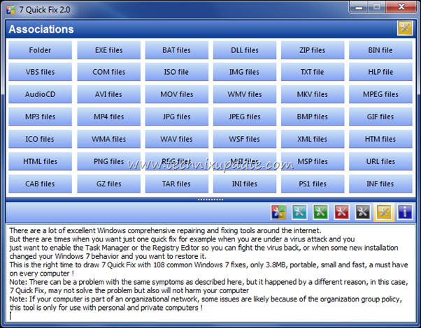 Windows 7 File Association Fix Tool