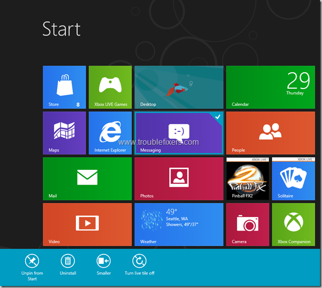 Windows 8 Tiles Move, remove, resize and re-position (2)