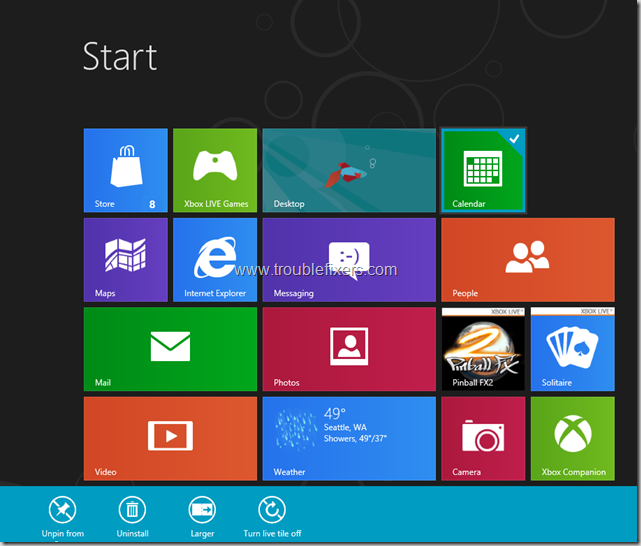Windows 8 Tiles Move, remove, resize and re-position (4)