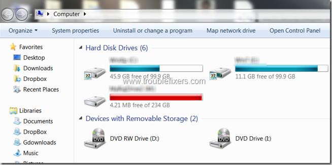 Windows DVD Drive Missing
