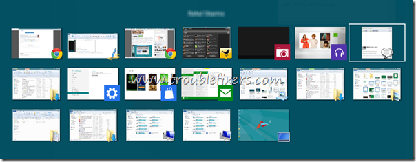 alt tab windows 8 thumnails