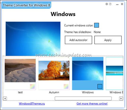 convert windows 7 theme to windows 8 format