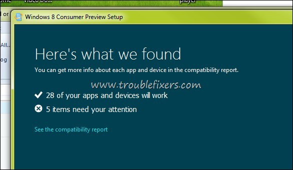 windows 8 consumer preview setup assistent
