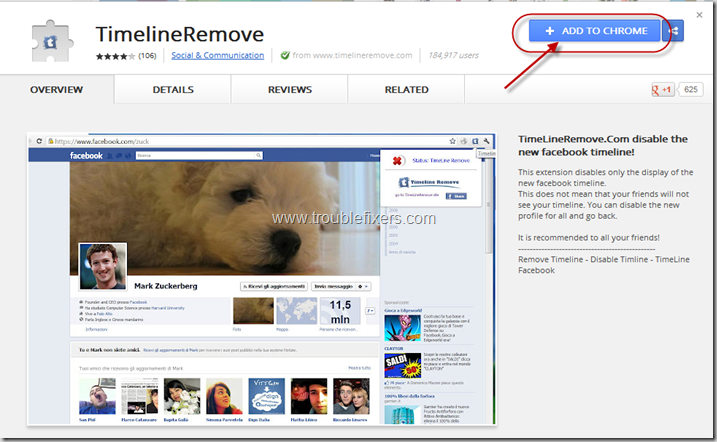 Add Timeline Remover Extension
