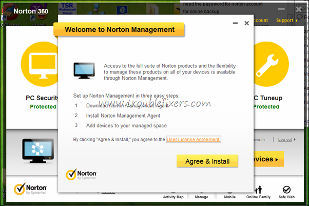 Norton Management client