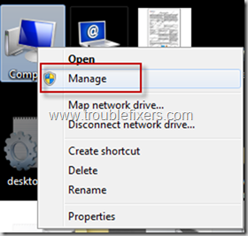 Open Management Console In Windows 7