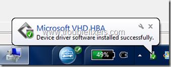VHD Detected