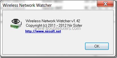 Wireless Netrowk Watcher