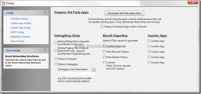 dMaintenance Windows Maintenance tasks tool (2)