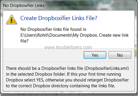 Make Any folder to sync with dropbox on windows or mac os  (2)