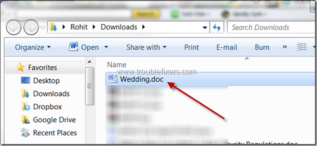 locate file downloaded using Internet Explorer browser2