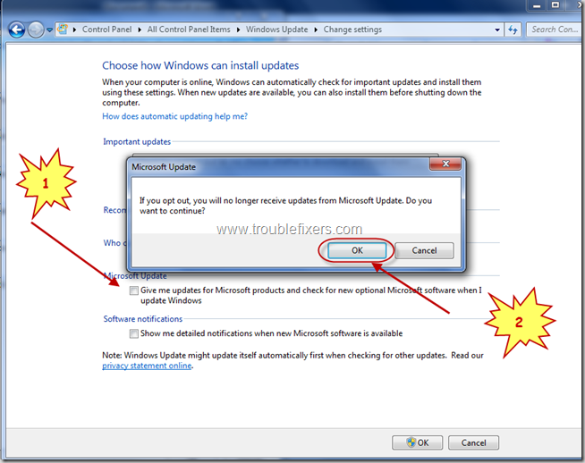 Enable Disable Microsoft Office Updates In Windows Updates (4)