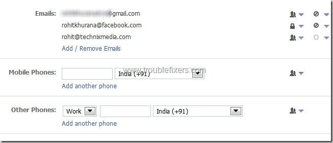 Show Hide Any Email Address on Facebook (11)