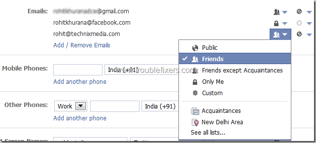 Show Hide Any Email Address on Facebook (14)