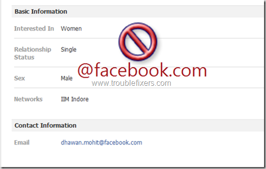 Show Hide Any Email Address on Facebook (15)