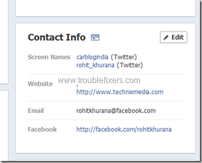 Show Hide Any Email Address on Facebook (2)