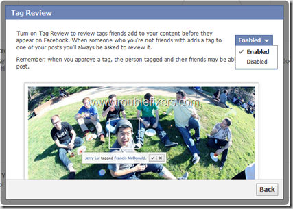 Review Pictures Tags In Facebook