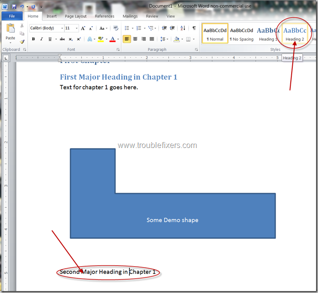 Generate Table Of Content In Microsoft Office Word (7)